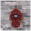 İhouse Ih191 Nazar Boncuklu Dekoratif Duvar Süsü Kırmızı Ev Gereçleri