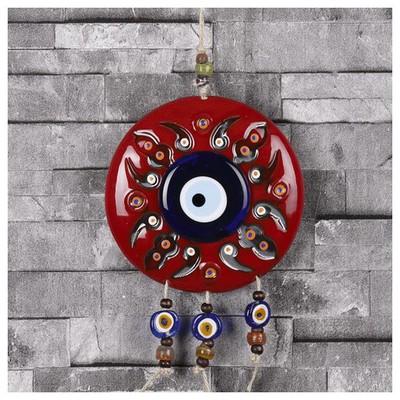 İhouse Ih194 Lidya Duvar Süsü Kırmızı Dekoratif Süs