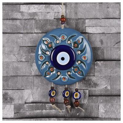 İhouse Ih195 Lidya Duvar Süsü Turkuaz Dekoratif Süs
