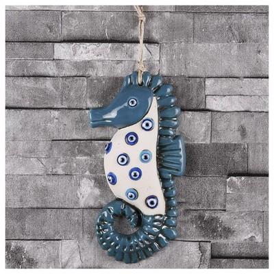 İhouse Ih227 Deniz Atı Duvar Süsü Turkuaz Dekoratif Süs