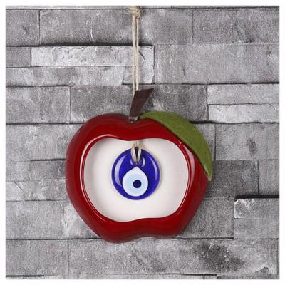 İhouse Ih237 Nazar Boncuklu Dekoratif Duvar Süsü Kırmızı Dekoratif Ürünler