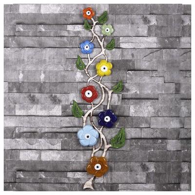 İhouse Ih258 Ağaç Dalı Nazarlık Eskitme Beyaz Dekoratif Süs