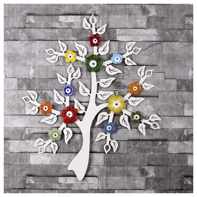 İhouse Ih259 Dilek Ağacı Nazarlık Beyaz Dekoratif Süs