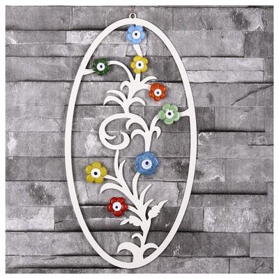 İhouse Ih261 Ağaç Dalı Nazarlık Beyaz Dekoratif Ürünler