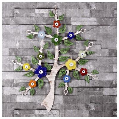 İhouse Ih262 Dilek Ağacı Nazarlık Eskitme Beyaz Dekoratif Süs