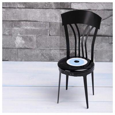 İhouse Ih272 Sandalye Nazarlık Siyah Dekoratif Süs