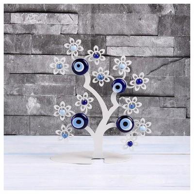 İhouse Ih275 Ağaç Dalı Nazarlık Beyaz Dekoratif Süs