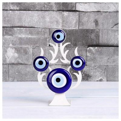 İhouse Ih280 Nazarlıklı Masa Üstü Dekoratif Obje Beyaz Dekoratif Ürünler
