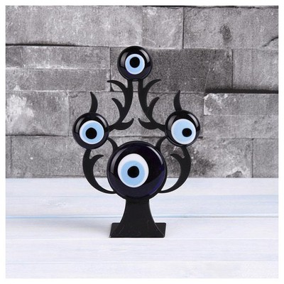 İhouse Ih281 Nazarlıklı Masa Üstü Dekoratif Obje Siyah Dekoratif Süs