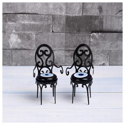 İhouse Ih290 Sandalye Nazarlık Siyah Dekoratif Süs