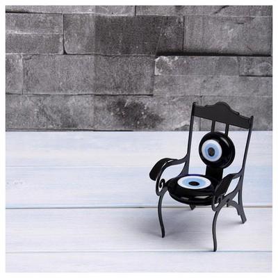 İhouse Ih294 Sandalye Nazarlık Siyah Dekoratif Süs