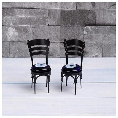 İhouse Ih296 Sandalye Nazarlık Siyah Dekoratif Süs