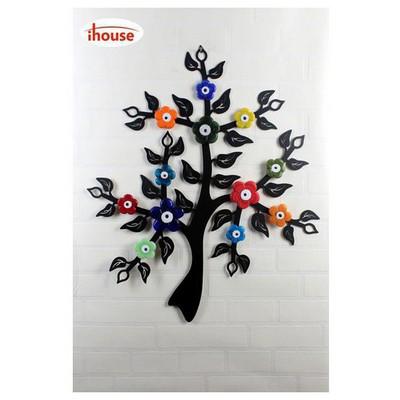 İhouse Ih302 Dilek Ağacı Nazarlık Eskitme Siyah Dekoratif Süs