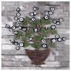 İhouse Ih307 Ağaç Dalı Nazarlık Eskitme Siyah Ev Gereçleri