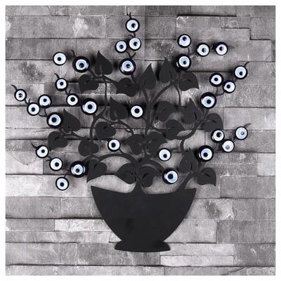 İhouse Ih309 Ağaç Dalı Nazarlık Siyah Dekoratif Süs