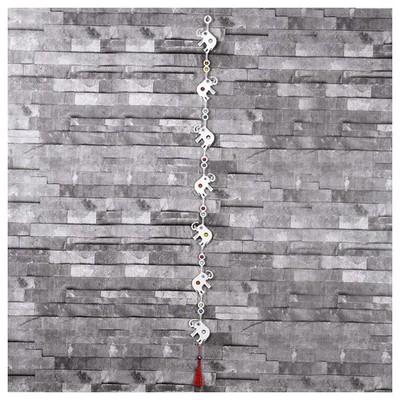 İhouse Ih312 Fil Askılı Nazarlık Beyaz Dekoratif Süs