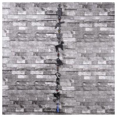 İhouse Ih313 Nazarlıklı Askılı Duvar Süsü Siyah Dekoratif Ürünler