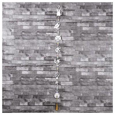 İhouse Ih314 Nazarlıklı Askılı Duvar Süsü Beyaz Dekoratif Süs