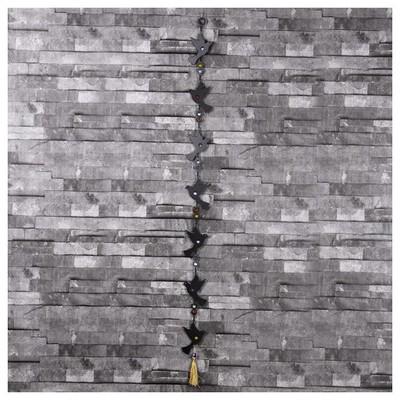 İhouse Ih315 Nazarlıklı Askılı Duvar Süsü Siyah Dekoratif Süs