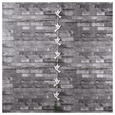 İhouse Ih316 Nazarlıklı Askılı Duvar Süsü Beyaz Dekoratif Süs
