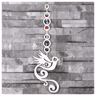 İhouse Ih318 Kuş Nazarlık Beyaz Dekoratif Süs