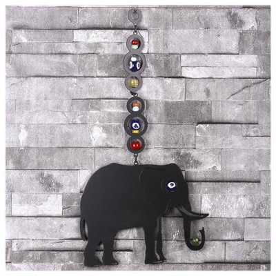 İhouse Ih321 Nazarlıklı Askılı Duvar Süsü Siyah Dekoratif Süs