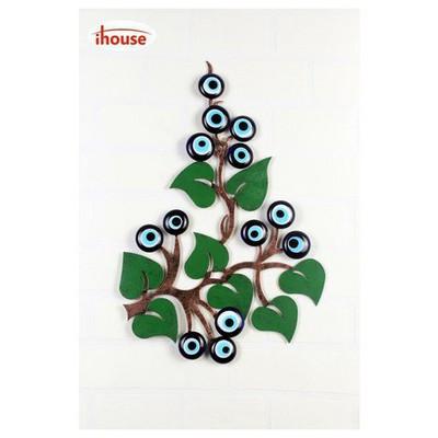 İhouse Ih326 Ağaç Dalı Nazarlık Eskitme Siyah Dekoratif Süs