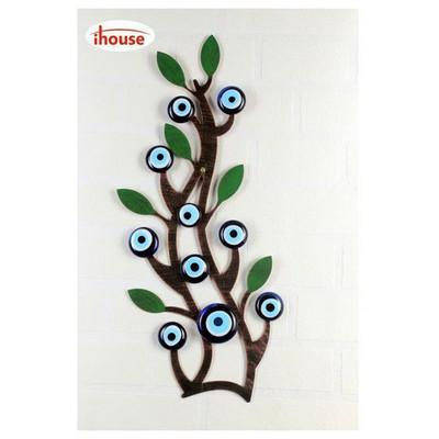 İhouse Ih332 Ağaç Dalı Nazarlık Eskitme Siyah Dekoratif Süs