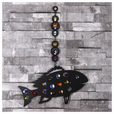 İhouse Ih344 Balık Nazarlık Siyah Dekoratif Süs