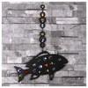 İhouse Ih344 Balık Nazarlık Siyah Ev Gereçleri