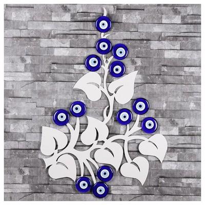 İhouse Ih356 Nazar Dalı Beyaz Dekoratif Süs