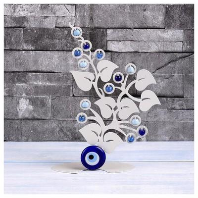 İhouse Ih357 Ağaç Dalı Nazarlık Beyaz Dekoratif Süs