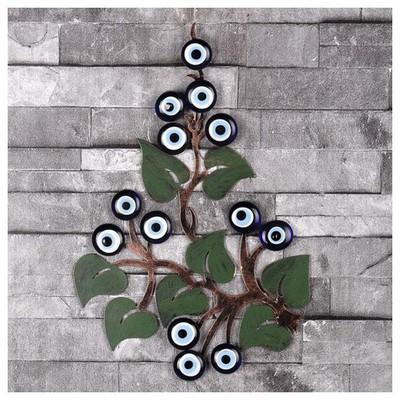 İhouse Ih359 Ağaç Dalı Nazarlık Eskitme Siyah Dekoratif Süs