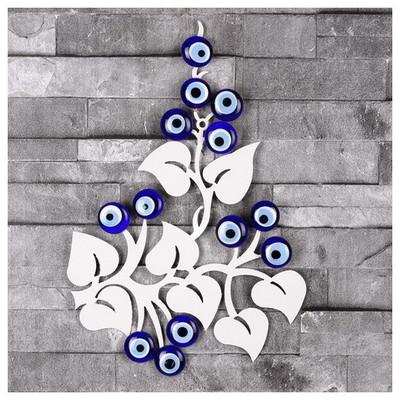 İhouse Ih360 Ağaç Dalı Nazarlık Beyaz Dekoratif Süs