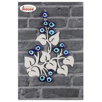 İhouse Ih362 Ağaç Dalı Nazarlık Beyaz Dekoratif Süs