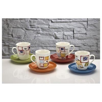 İhouse Kla03-2 Nescafe Fincan Seti Sarı Fincan Takımı