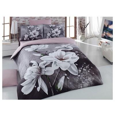 Örtüm Lilya Çift Kişilik Uyku Seti Kahve Uyku Setleri