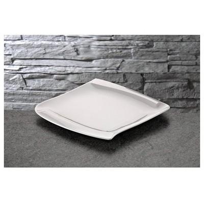 İhouse Lx02 Porselen Servis Tabağı Beyaz Servis Gereçleri