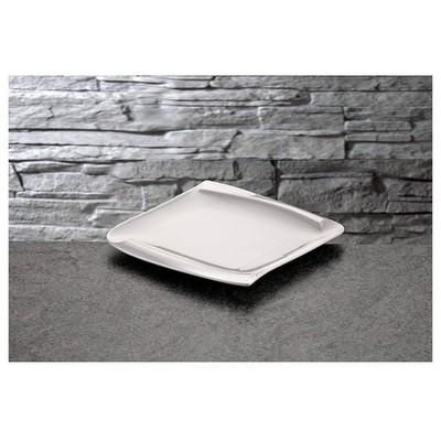 İhouse Lx03 Porselen Servis Tabağı Beyaz Küçük Mutfak Gereçleri