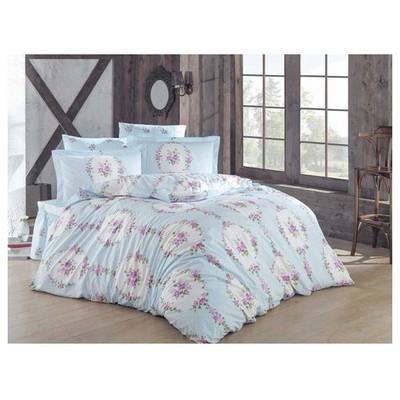Clasy Macetasv1 Uyku Seti Mavi Tek Kişilik Ev Tekstili