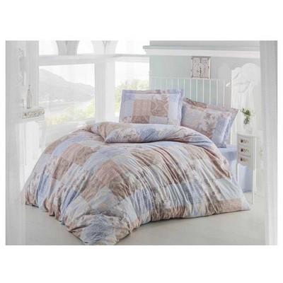Clasy Paledov1 Nevresim Takımı Mavi Çift Kişilik Ev Tekstili