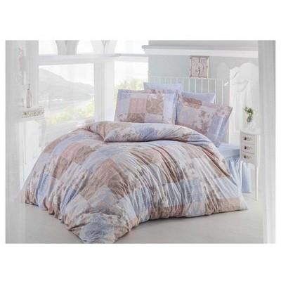 Clasy Paledov1 Uyku Seti Mavi Çift Kişilik Ev Tekstili