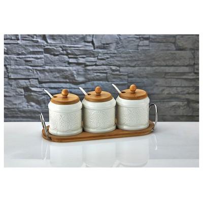 İhouse Pj17 Porselen  Beyaz Baharatlık
