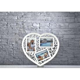 İhouse Res04 Çoklu Resim Çerçevesi Beyaz Çerçeve / Albüm