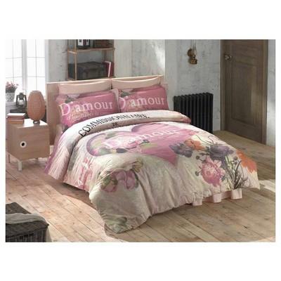 Clasy Romance Uyku Seti Pembe Çift Kişilik Uyku Setleri