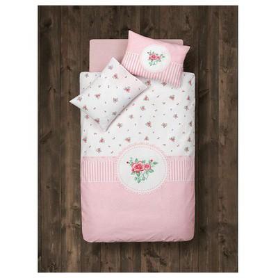 Clasy Rosen Bebek Uyku Seti Pembe Bebek Nevresim