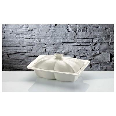 İhouse Rx08 Porselen Fırın Kabı Beyaz