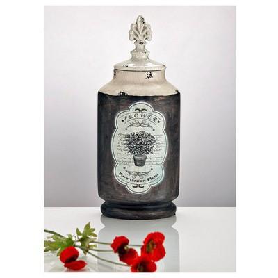 ihouse-zx01-dekoratif-kavanoz-lacivert