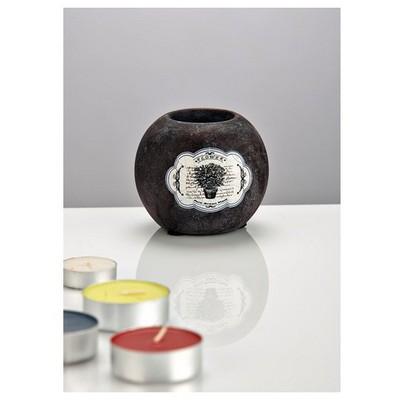 İhouse Zx06-dekoratif Şamdan-lacivert Dekoratif Ürünler