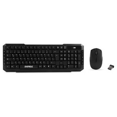 Everest KM-510 Kablosuz Q Klavye ve Mouse Seti